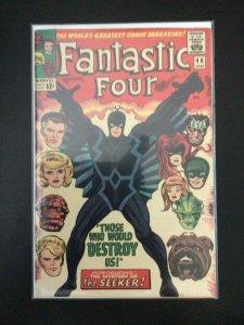 Fantastic Four #46 (1966) 1st Black Bolt, 1st Seeker