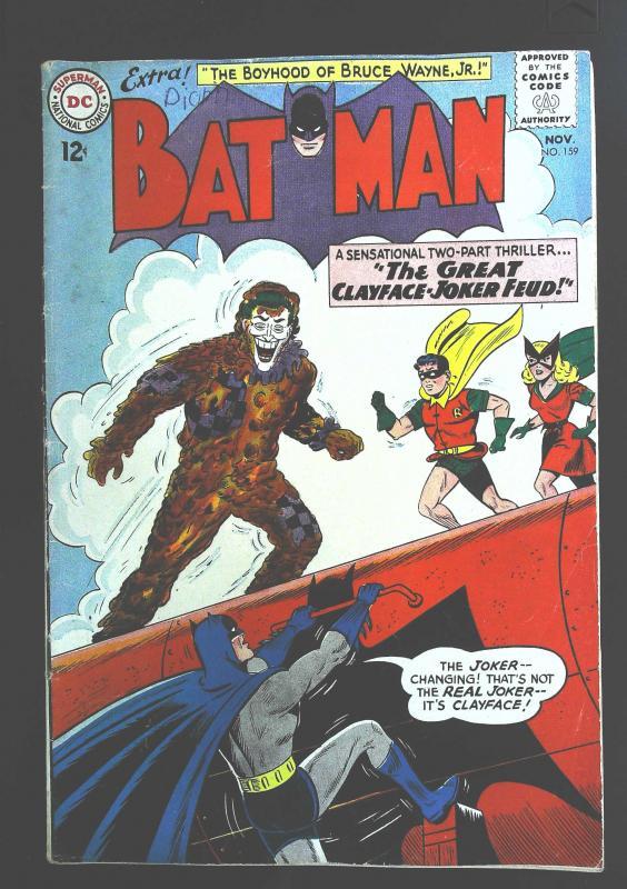 Batman (1940 series) #159, VG (Actual scan)