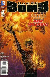 Human Bomb #1 VF/NM; DC | save on shipping - details inside