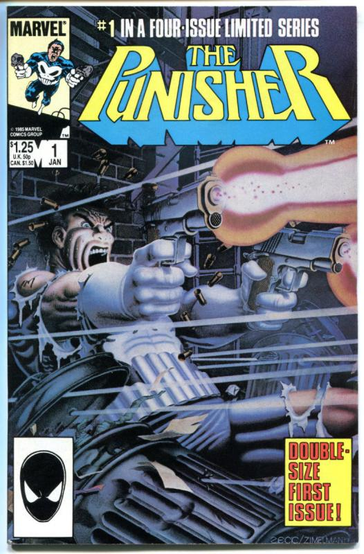 PUNISHER #1, VF, Mike Zeck, Mini Series, 1986, Marvel, more in store