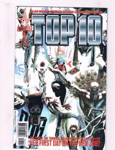 Top 10 # 1 VF America's Best Comics Alan Moore Gene Ha Alex Ross Cover J31