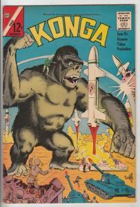 Konga #9 (Nov-62) VF+ High-Grade Konga