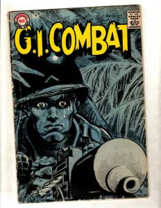 G.I. Combat # 69 VG DC Silver Age Comic Book War Series Army Navy Marines FM2