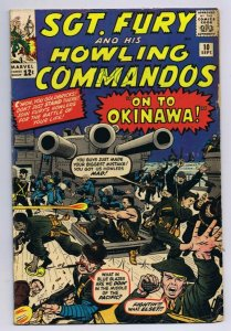 Sgt Fury and His Howling Commandos #10 1964 Marvel Comic Book 1st Captain Savage
