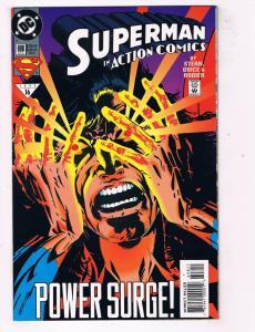Action Comics #698 VF DC Comics Comic Book Stern Superman Apr 1994 DE44