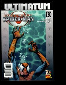 9 Ultimate Spider-Man Marvel Comic Books #128 129 130 131 132 133 Ann 1 2 3 SM11