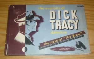 Exploits of Dick Tracy, Detective #1 VG case of the brow - hardcover 1946 HC