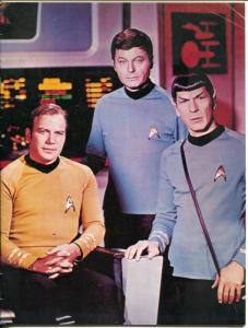 Int'l Star Trek Convention Program Book 1975-Shatner-Nimoy-Neal Adams-FN-