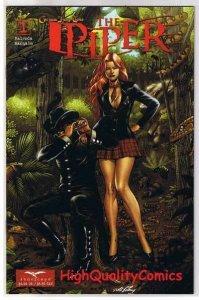 The PIPER #1, NM+, Grimm fairy tales, Al Rio, Rats, 2008, more GFT in store