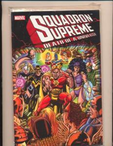 Squadron Supreme (1985 series) Death of a Universe TPB #1, NM + (Actual scan)