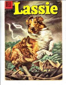 Lassie #30 (Oct-56) VG/FN Mid-Grade Lassie, Ranger Bob Ericson and Ranger Sco...