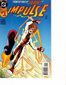 Lot Of 2 DC Comic Book Impulse #1 and Haywire #1 AH12