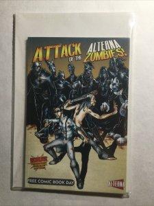 Attack Of The Alterna Zombies Free Comic Book Day Fcbd Near Mint Nm Alterna