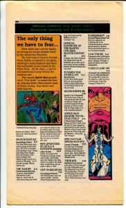 Marvel Requirer #12 1991-info on upcoming Marvel issues-Doctor Strange-FN