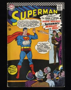 Superman #185 FN- 5.5