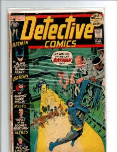 Detective Comics #421 - Batman - Batgirl - Alfred - 1972 - G/VG