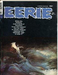 EERIE #7-1966-FRANK FRAZETTA-STEVE DITKO-JOHNNY CRAIG-GENE COLAN-ARCHIE GOODWIN