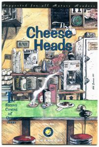 The CHEESE HEADS #3, VF, 2nd Coming of Officer Jerry, 1992, more Indies in store