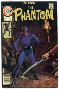 THE PHANTOM #69 1976-CHARLTON COMICS-WILD COVER NEWTON FN/VF