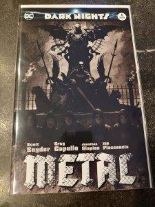 DARK NIGHTS METAL #1 (OF 6) TERRIFIC CON EXCLUSIVE TIM BRADSTREET