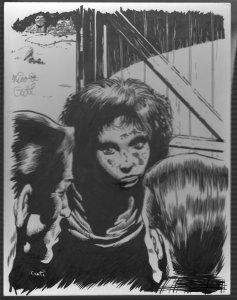 Spin A Web Of Death Nick Cuti Original Art-2000-page 18 illustration-FN