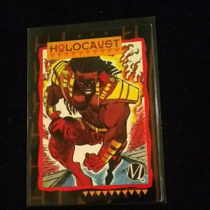 Holocaust (1993, Skybox) DC Milestone The Dakota Universe Wizard Promo Card #M7