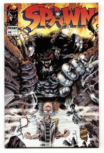 SPAWN #38-1995-First appearance CY-GOR-Image NM-