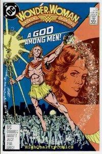 WONDER WOMAN #23, VF+, Perez, God Among Men, Amazon, 1987, more WW in store