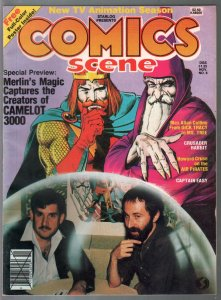 Comics Scene #6 1982-Crusader Rabbit-Howard Cruise-Camelot 3000-VF