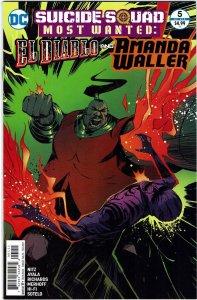 Suicide Squad Most Wanted: El Diablo & Boomerang #5 NM