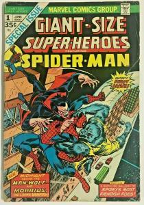 GIANT-SIZE SUPER-HEROES#1 VG 1974 MARVEL BRONZE AGE COMICS
