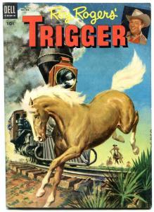 Roy Roger's Trigger #11 1954- Dell Golden Age Western FN
