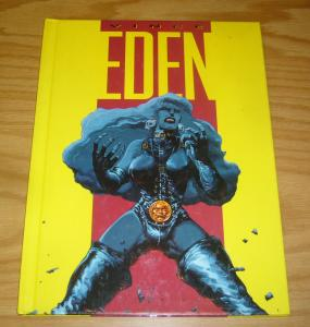 Eden by Vince HC VF/NM heavy metal kitchen sink 1992 hardcover