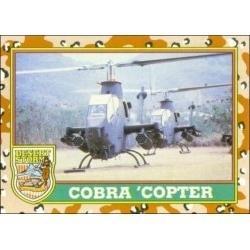 1991 Topps Desert Storm COBRA 'COPTER #16