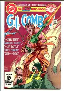 G.I. COMBAT #258-DC WAR-WWII ACTION-Joe Kubert VF/NM