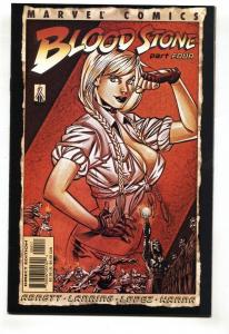 Bloodstone #4 ELSA BLOODSTONE Marvel comic book