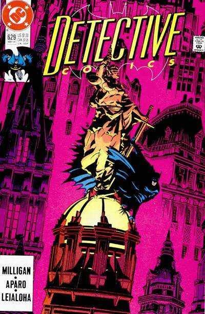 Detective Comics (1937 series) #629, NM- (Stock photo)