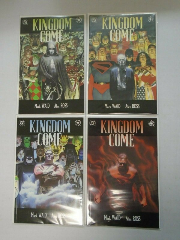 Kingdom Come DC Set: #1-4 8.0 VF (1996)