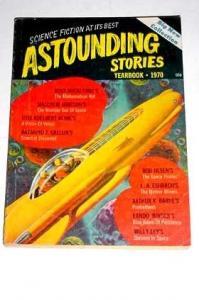 ASTOUNDING SCI-FI-1970 YEARBOOK-FUTURISTIC VG/FN
