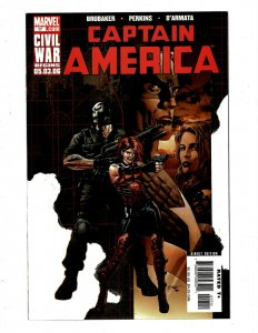 8 Captain America Marvel Comic Books # 17 18 19 20 21 24 25 Winter Soldier 1 HY5