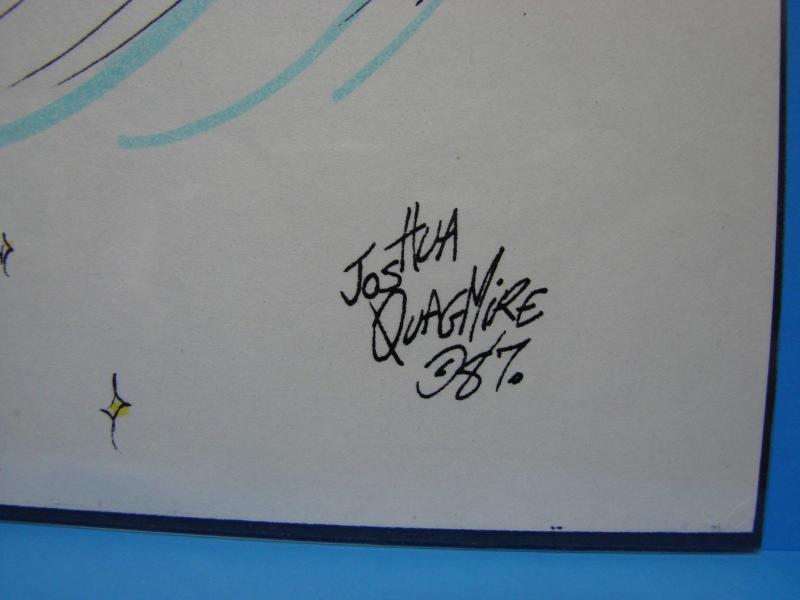 Joshua Quagmire Cutey Bunny 11 x 8.5 Colored Print Kelly O'hare Vicky Feldhyser