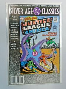 DC Silver Age Classics Brave and the Bold #28 JLA 8.0 VF (1992)