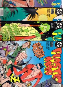 Plastic Man Set #1to4 (Nov-88) NM+ Super-High-Grade Plastic Man
