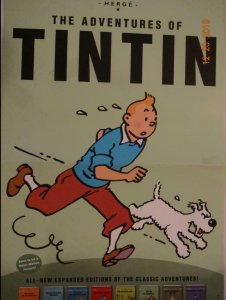 ADVENTURES OF TIN TIN Promo Poster, 11 x 17, 2011,  Unused more in our store 385