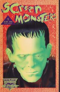 Screen Monsters #1 - NM+