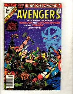 Avengers King Size Annual # 7 VF/NM Marvel Comic Book Thanos Hulk Thor GK2