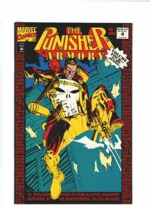 Punisher Armory #4 VF- 7.5 Marvel Comics 1992