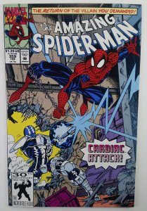 Amazing Spider-man 359 1ST (Cameo) FIRST APP Kasaday & Carnage Symbiote HG
