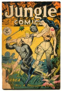 Jungle Comics #100 1948- Matt Baker- Kaanga FAIR