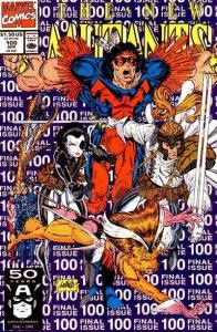 New Mutants (1983 series) #100, VF (Stock photo)